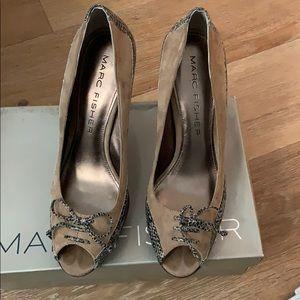 Marc Fisher heels peep toe